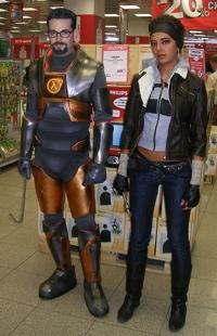 Freeman and Alyx